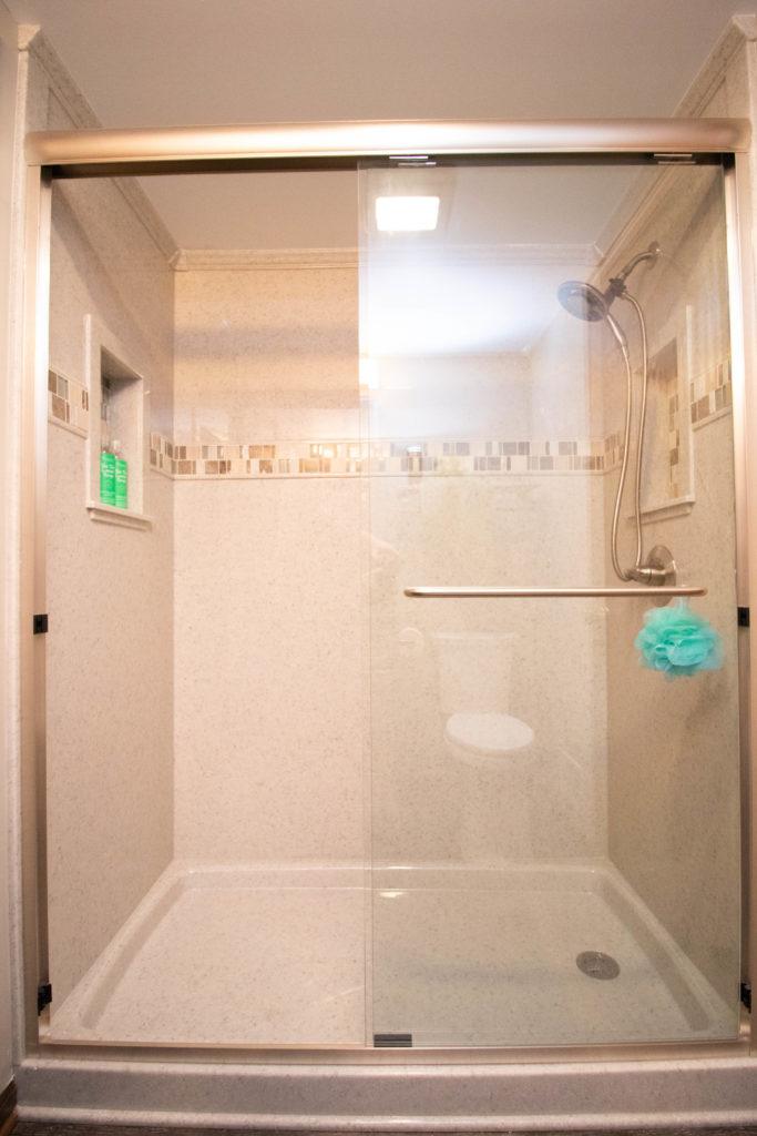 Shower Addition