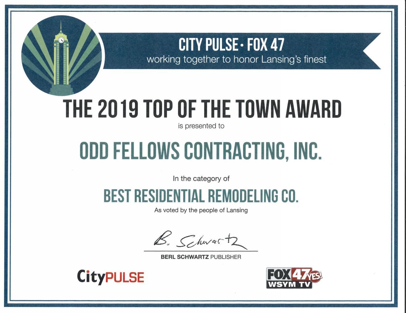 City-Pulse-Remodeling-Award